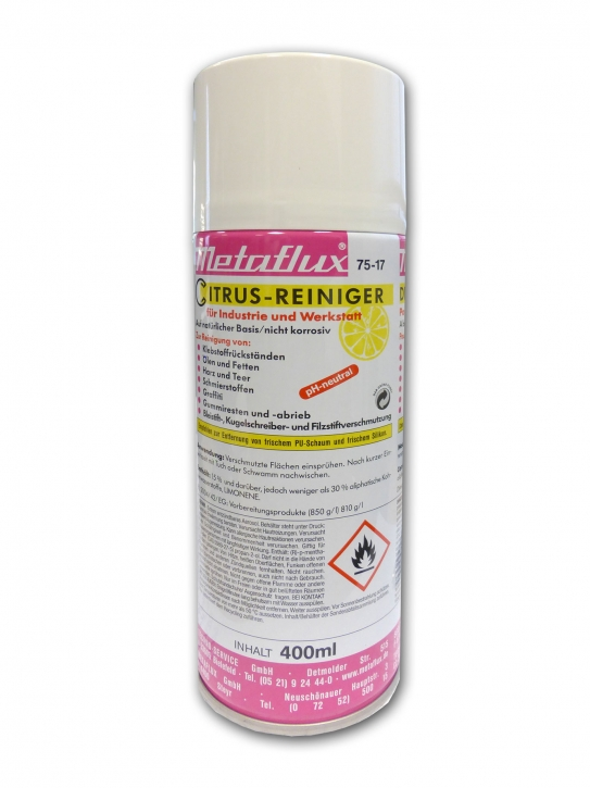 Citrusreiniger Metaflux ph-neutral 75-17 400 ml