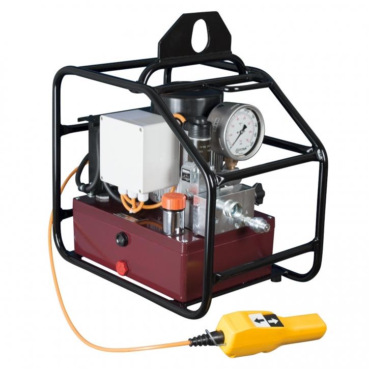 Elektrische Hydraulikpumpe EXE MAX-FFH4 230V, 0,55kW, 4 Ausgänge