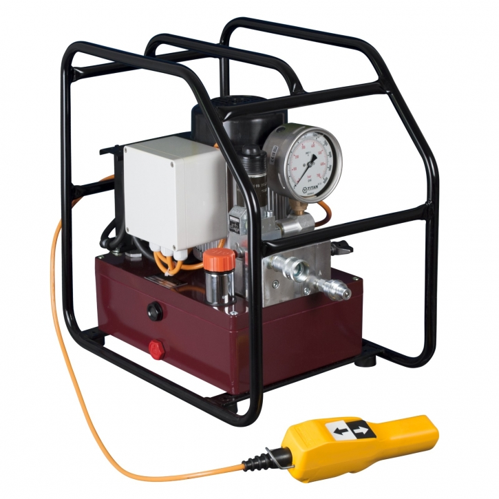 Elektrische Hydraulikpumpe EXE MAXS-FF1 230V, 1,1kW, Einzelausgang