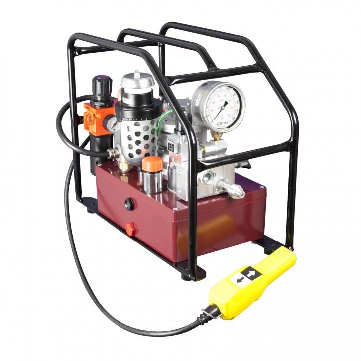Pneumatische Hydraulikpumpe EXA MAX-FF1 2,8kW, Einzelausgang