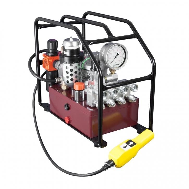 Pneumatische Hydraulikpumpe EXA MAX-FF4 2,8kW, Einzelausgang