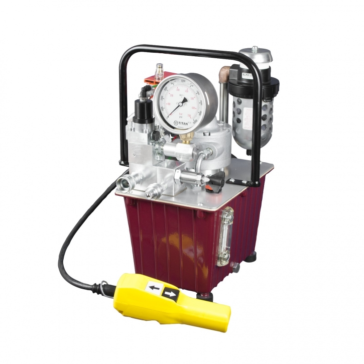 Pneumatische Hydraulikpumpe EXA MINI-SF1 1,12kW, Einzelausgang