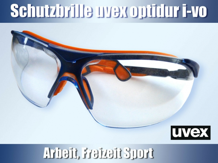 uvex Schutzbrille optidur i-vo eye-volution 9160.064